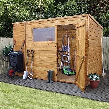 10 x 8 Waltons Tongue and Groove Pent Wooden Shed | Waltons Sheds