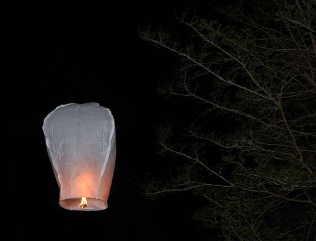How to make a flying lantern.