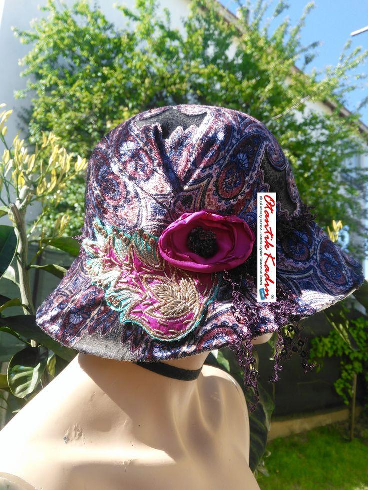 Otantik Tasarım Kadife Şapka – 100417 | Otantik Kadın, Otantik HER HAKKI SAKLIDIR. KOPYALANAMAZ, İZİNSİZ KULLANILAMAZ Çantalar,şapka,Takılar