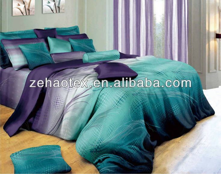 Amusing Purple And Teal Bedroom: Teal Bedroom Ideas And Modern ...