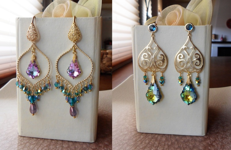 Earrings  Serena Di Mercione Creations