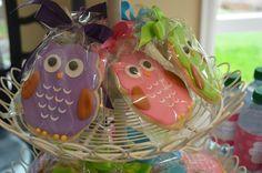 Birthday Party: Owl Cookies