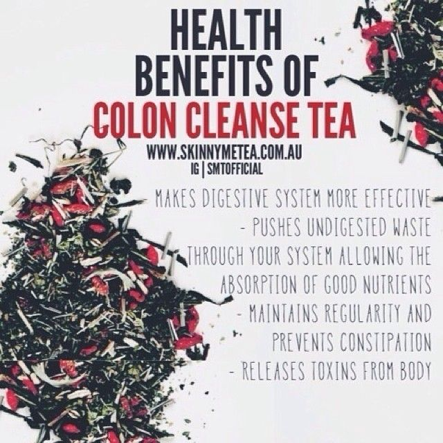 skinnyme tea colon cleanse instructions