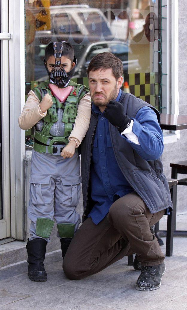 Tom Hardy & mini-Bane