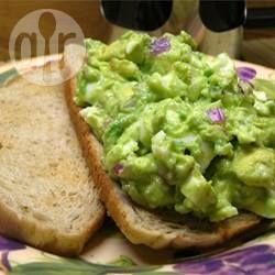 Foto recept: Eiersalade met avocado