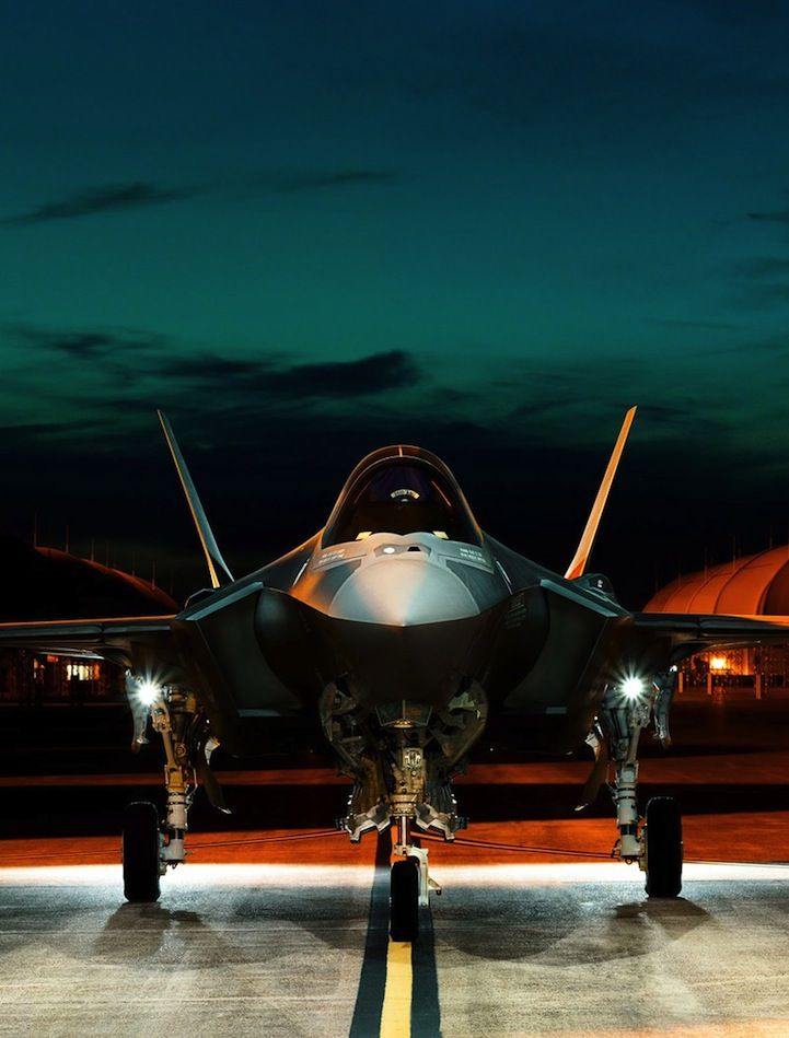 photographer Stephen Wilkes —F-35 Lightning II