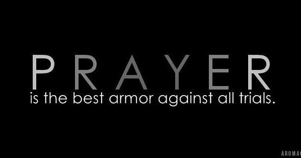 Bible Verse Covers for Facebook: PRAYER - is the best armor against all trial. - FB Cover