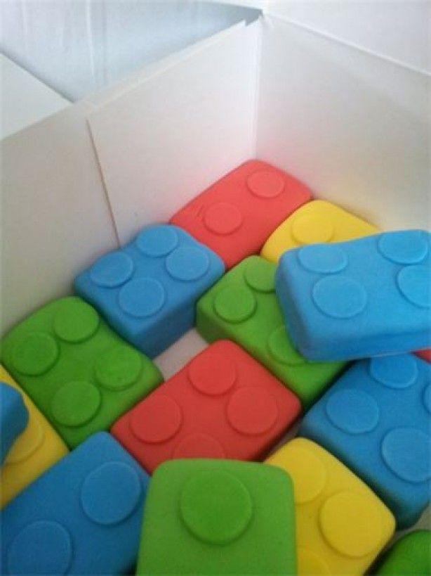 lego cakjes, leuk als traktatie