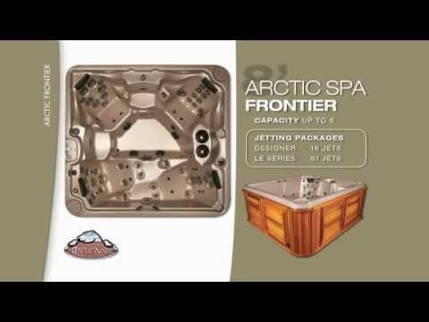The Frontier - Mid Size Hot Tub With Lounger   Arctic Spas