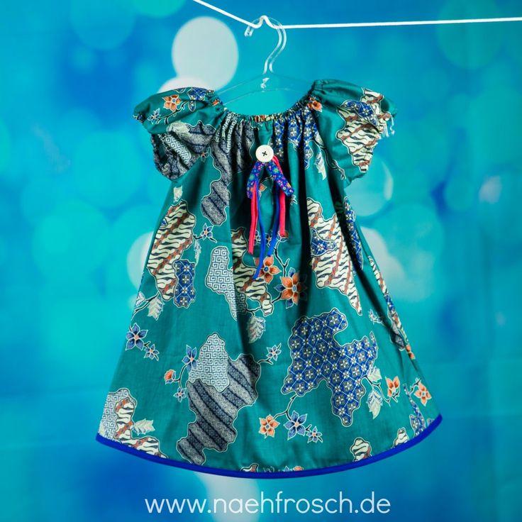 Nähfrosch Kostenloses Schnittmuster Peasant Dress von Scattered Thoughts of a Crafty Mom  Nähen für Kinder
