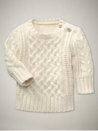 Can't go wrong with this! These types of sweaters are perfect for the 6 month - 1 year stage too!