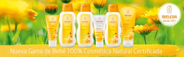 La cosmética para tu bebé 100% natural.