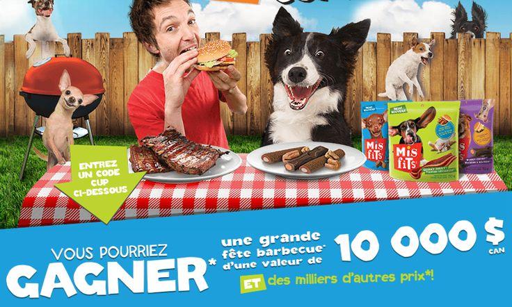 10 000$ + 2,000 emballages gratuits de gâteries MISFITS offerts! - Quebec echantillons gratuits