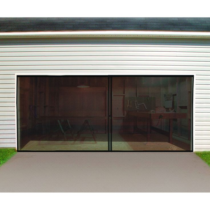 17 best ideas about garage door screens on pinterest for Retractable double garage door screen