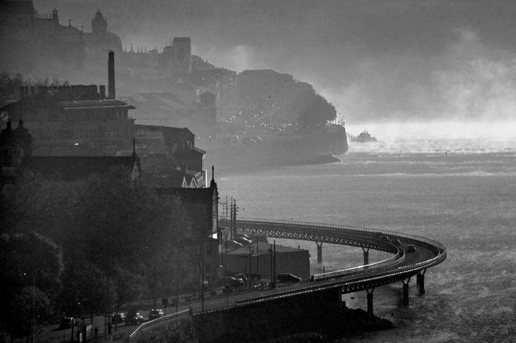 Curvas do Rio Douro, quase em Massarelos - Porto - Portugal.