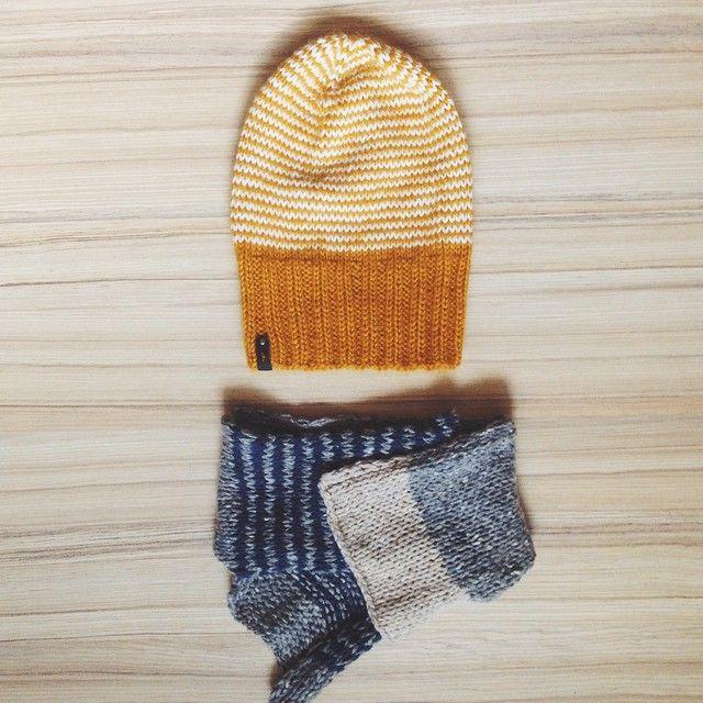knitted hat / вязаная шапка