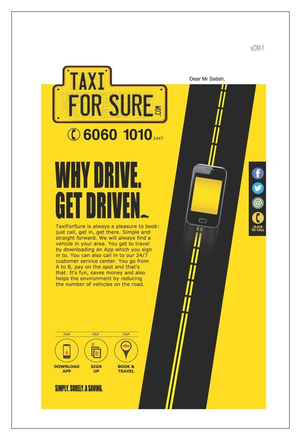 TAXI by Vijesh Achari, via Behance
