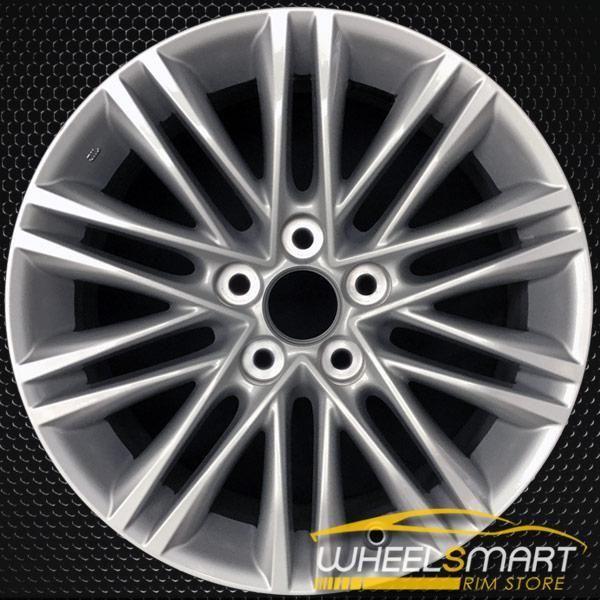 17 Lexus Es350 Rims For Sale 2013 2015 Hypersilver Oem Wheel 74277 Rims For Sale Oem Wheels Lexus