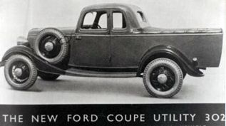 Ford coupe Utility 1934