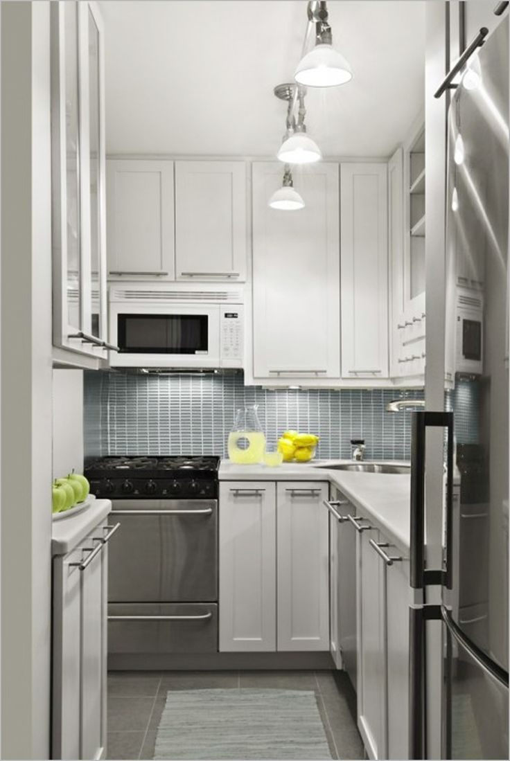 508 best Small Kitchens images on Pinterest | Kitchen ideas, Kitchen ...