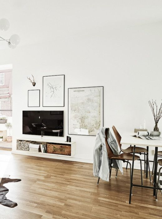 How To Decorate Around A TV (Simply Grove)
