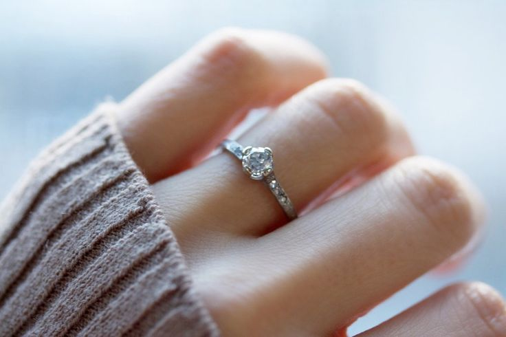 1000+ Ideas About Vintage Engagement Rings On Pinterest