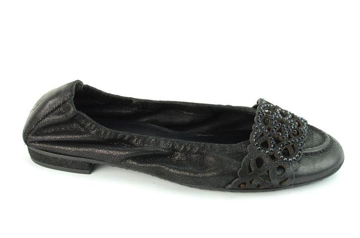 K+S ballerina zwart - black