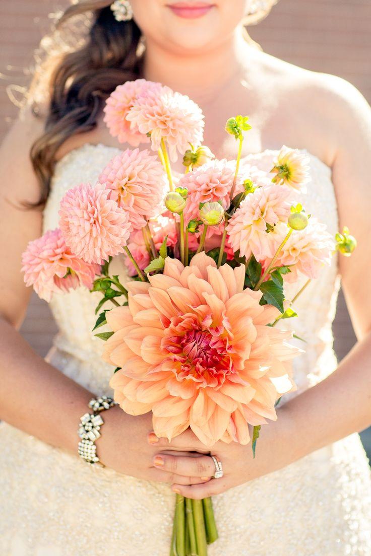 17 Best Images About Dahlia Wedding Bouquet On Pinterest