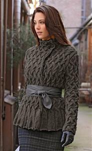 detail in this knit jacket, exquisite - Ceket Desen