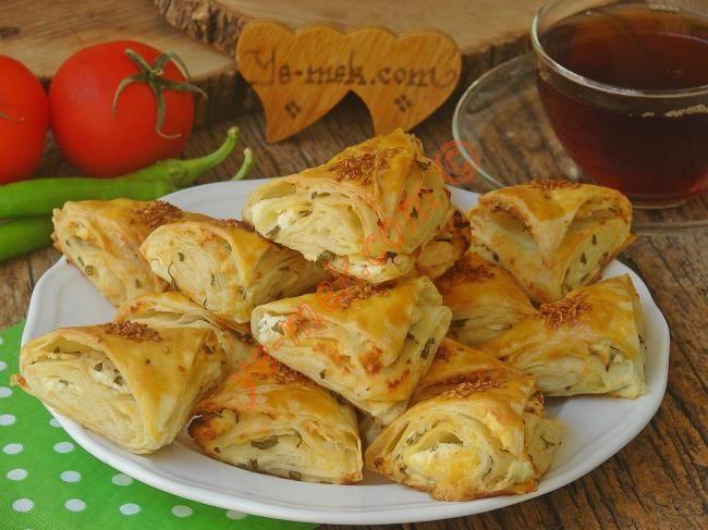 Peynirli Çıtır Üçgen Börek Resimli Tarifi - Yemek Tarifleri