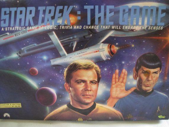 Vintage Limited Edition Star Trek Board Game by VintageByThePound, $32.00