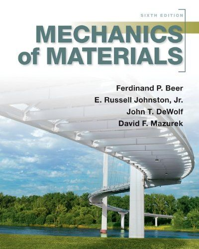 I'm selling Mechanics of Materials by Ferdinand Beer, Jr., E. Russell Johnston, John DeWolf and David Mazurek - $25.00 #onselz