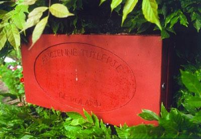 La brique de l'ancienne tuilerie