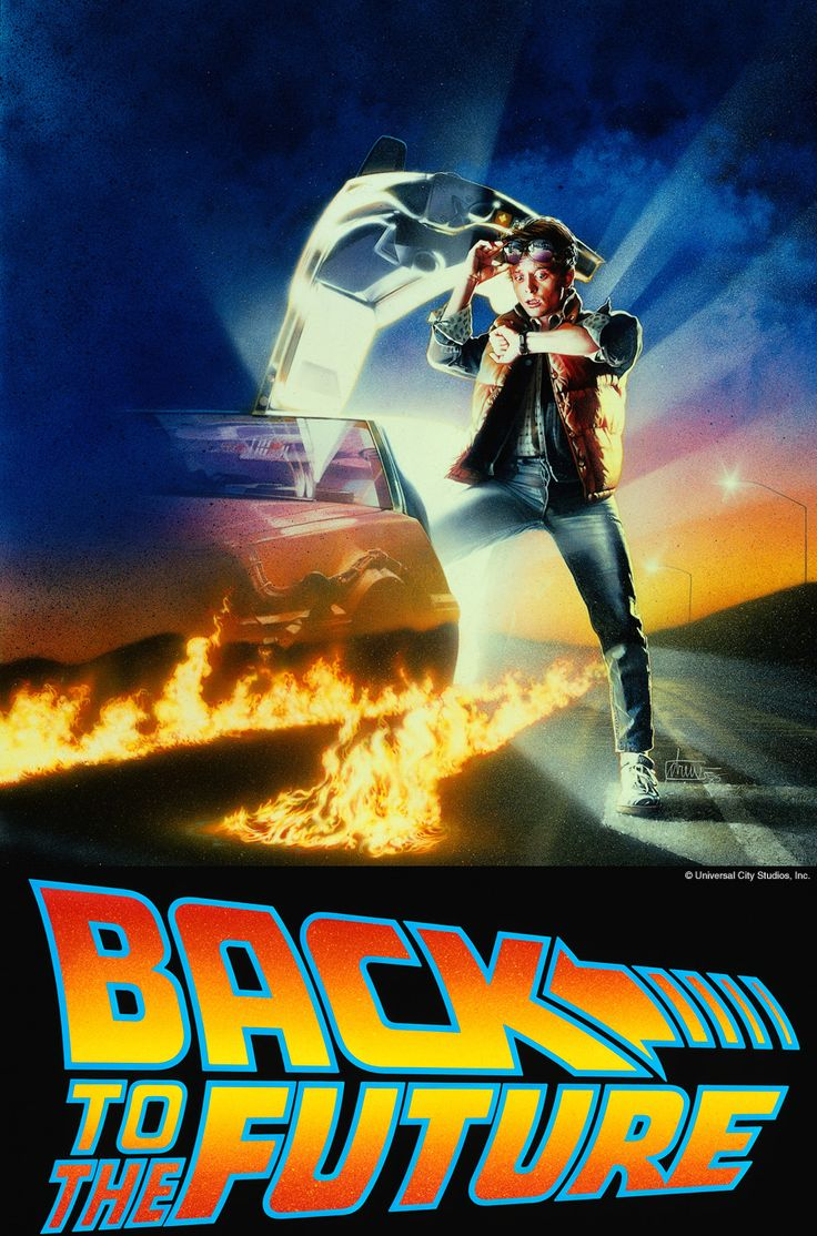 Back to the Future (Trilogy), 1985, 1989, & 1990