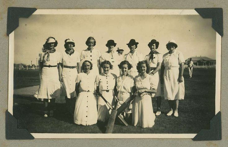 Cunnamulla Qld women's cricket team, 1939.