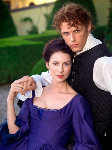 NEW* pics and stills Caitriona Balfe , Sam Heughan and Outlander Season 2