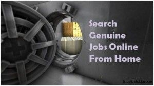 How to Search For Genuine Online Jobs From Home in Google