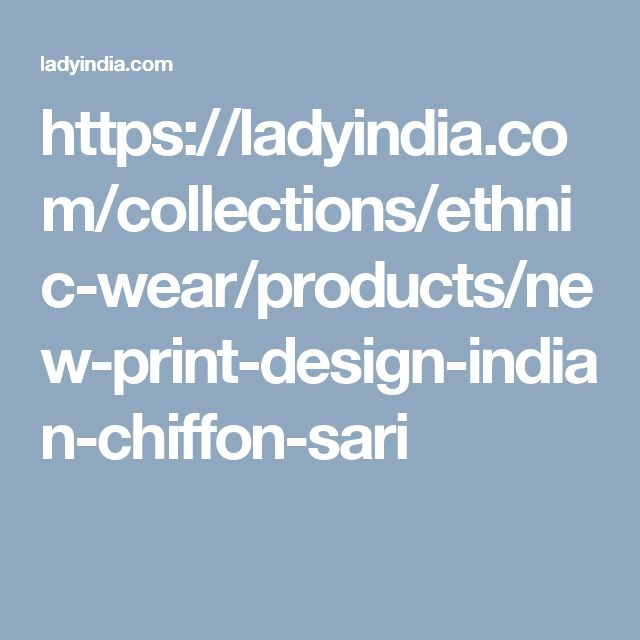 https://ladyindia.com/collections/ethnic-wear/products/new-print-design-indian-chiffon-sari