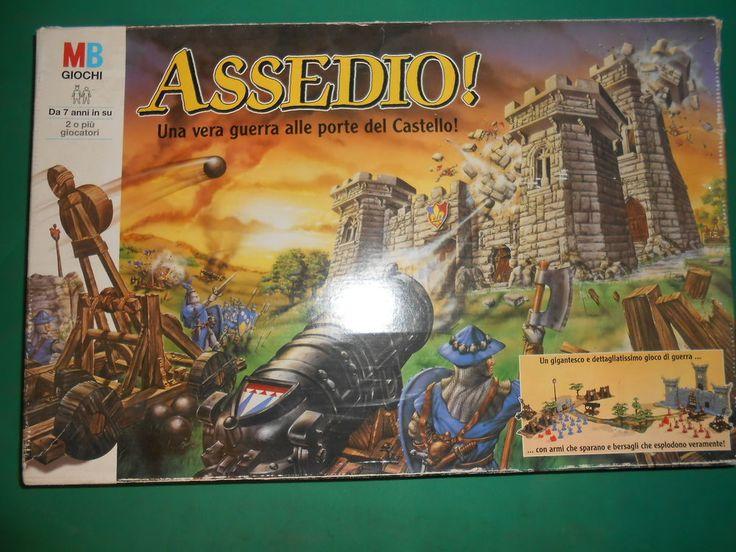 MB  ASSEDIO Una vera guerra alle porte del castello  Gioco da Tavolo BOARD GAME