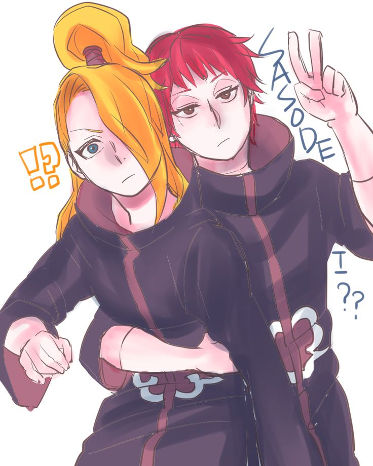 205 Best Akatsuki Teams: Sasori & Deidara Images On