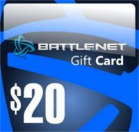 Reward: $20 Battle.net Store Gift Card Balance EvoBay