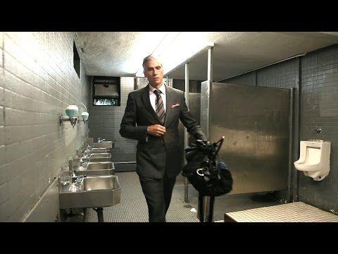 このダンディーなおじさん、家を持っていません!映画『ホームレス ニューヨークと寝た男』予告編 - YouTube