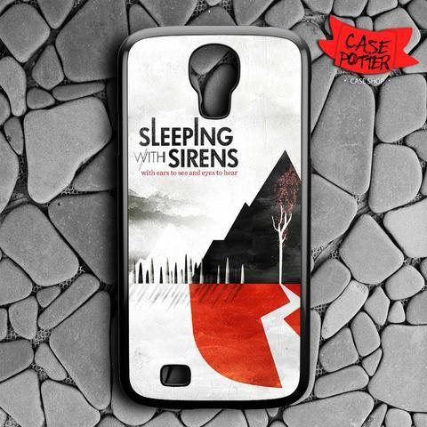 Sleeping With Sirens Samsung Galaxy S4 Black Case