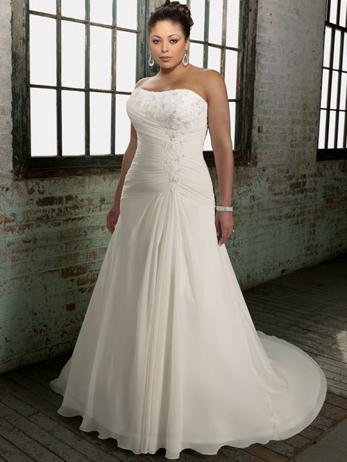 Get great selection of summer plus size bridal gown at low prices. Online wedding dresses store for all body shapes.