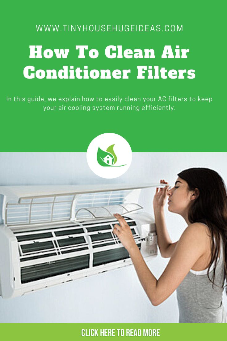 How To Clean Air Conditioner Filters Clean Air Conditioner