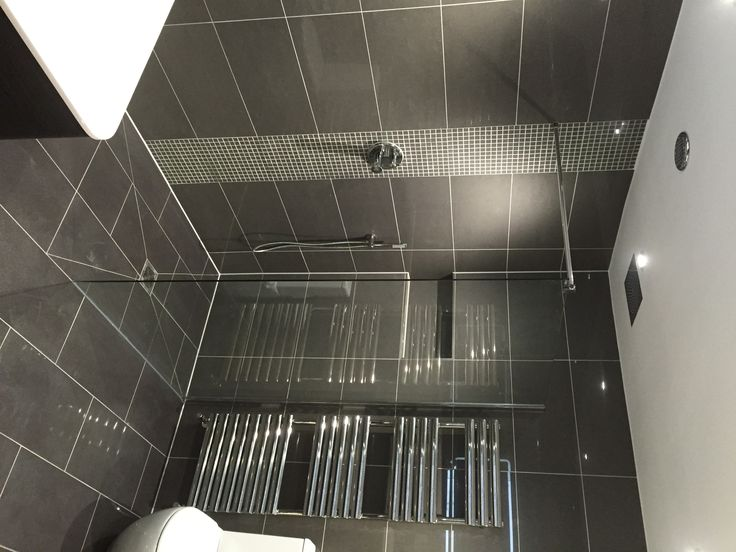 New shower.