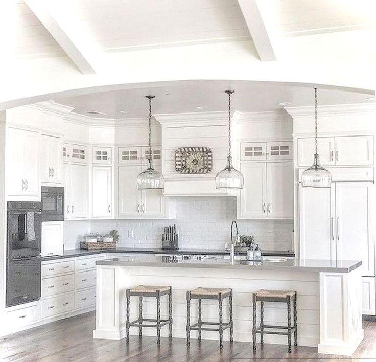 Best 25+ Farmhouse Kitchen Cabinets Ideas On Pinterest