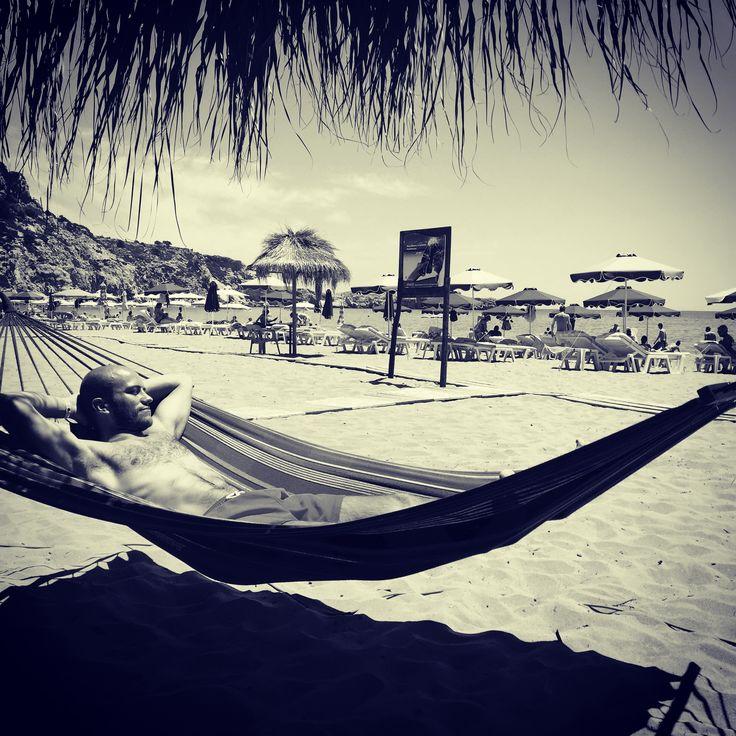 Chilling on Hammock in Greece