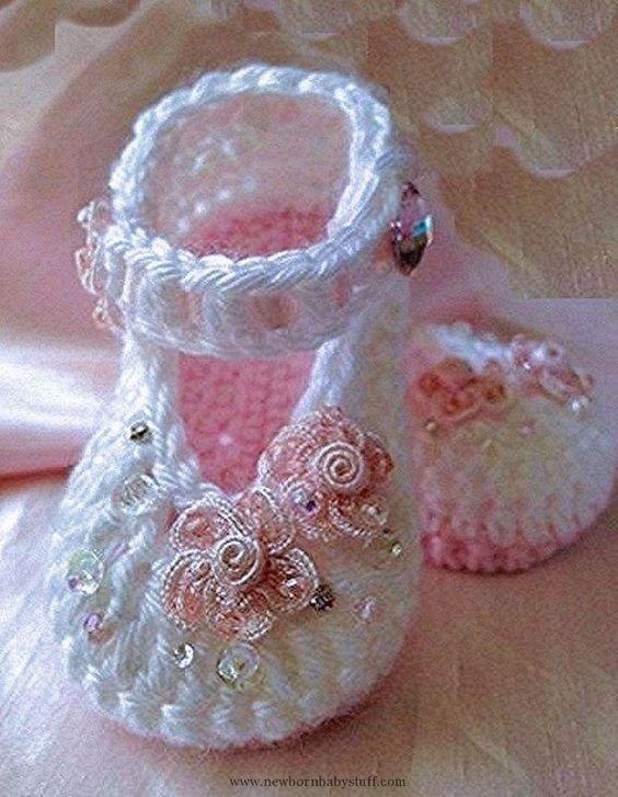 Crochet Child Booties ♥♥ Crochet Baby Booties Supply : ♥♥… by debozark