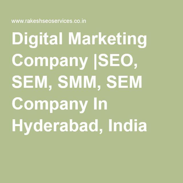 Digital Marketing Company  SEO, SEM, SMM, SEM Company In Hyderabad, India